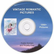 Vintage Romantic Images!  - 1000+  images on CD