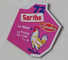 72 SARTHE MAGNET LE GAULOIS CARTE NOUVELLE COLLECTION DEPARTAIMANT