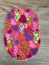 Funky Stoma bag pouch covers for Ostomy Ileostomy Colostomy Patch work hearts