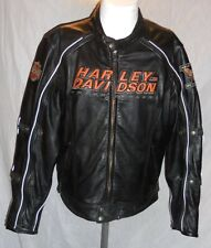 Harley Davidson Alternator Swithchback 2 n 1 Leather Jacket Men's 98117-08VM MED