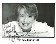 Nancy Dussault Original Signed Autographed 8x10 photo S4745