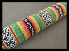 New 120 cm, DOOR SNAKE, funky Mexican theme, handmade filled Draft Sausage
