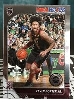 2019-20 NBA Hoops Premium Stock Kevin Porter Jr. Rookie Base Card # 225.  Cavs