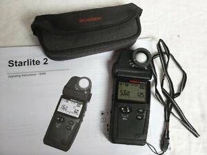 Gossen Starlite 2 Flashmeter Spot Meter Ambient Light Exposure Meter Esposimetro