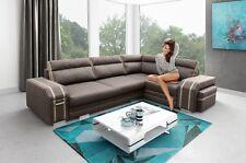 Ecksofa Couch mit Schlaffunktion Eckcouch Polstergarnitur Wohnlandschaft -AVATAR