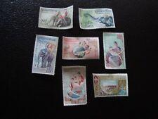 LAOS - 7 sellos nsg (A5) stamp