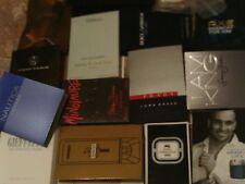 Samples Designer Brands versace,Million,d&g,N eroli Lot of 17 Dif Mens Cologne