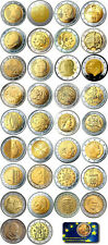 2 EUROS NO CONMEMORATIVOS 1999 - 2020 - TODOS LOS PAISES - SIN CIRCULAR