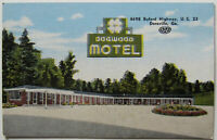 Doraville Georgia Dogwood Motel Vintage Postcard Atlanta (f709)
