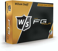 Wilson Staff Fg Tour Dozen Golf Balls White