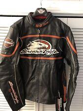 Harley Davidson Mens Size Large NEW Screamin Eagle Leather Jacket  98226-06VM