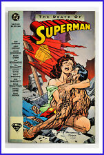 The Death Of Superman (DC 1993) 1st Printing Graphic Novel FN+ Comic Book