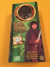 "Nib Toy Biz Special Edition Collector Series 12"" Frodo Lord of the Rings"