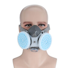 Anti Dust Respirator 2 Gas Mask Filter Twin Chemical Spray Paint Safety Headwear