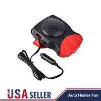 12V 2in1 Car Truck Auto Heater Hot Cool Fan Windscreen Window Demister Defroster