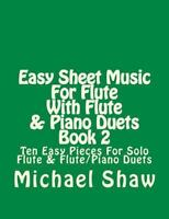 2 Set of Parts Woodwind Ensemble NEW 050261600 6 Duets for Two Flutes Op