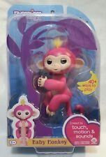 Authentic FINGERLINGS Bella Pink Monkey Interactive Woowee Finger Toy