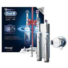 Oral-B Génie 8900 électrique rechargeable SMART Brosse à Dents Braun DEUX ANSE