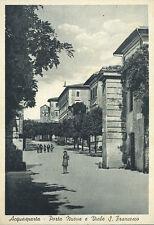 * Acquasparta ( Umbria ) : porta Nuova e Viale S. Francesco * Periodo Anni 50