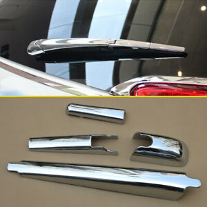 For Jeep Cherokee 2014-2021 Chrome Rear Windshield Wiper Cover Trims