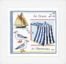Vervaco Kit pour Point de Croix - Un Océan De Souvenirs