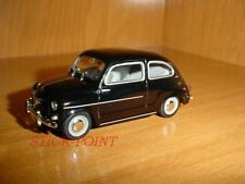 SEAT 600D 600 D 2nd SERIES SPANISH ARMY FIAT 1969 1:43 EJERCITO