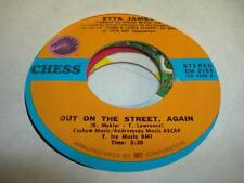 Jazz Unplayed NM! 45 ETTA JAMES Out On the Street, Again on Chess