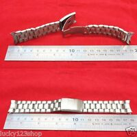 B-3381 16mm Silver Stainless Steel Watch Bands > Watches Wristwatches Brand-New
