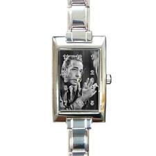 Humphrey Bogart Rectangular Italian Charm Watch
