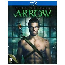 Arrow: The Complete First Season (Blu-ray Disc, 2014, 4-Disc Set) With Slipcover