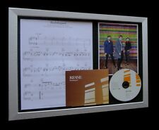 KEANE Bedshaped LIMITED Numbered CD MUSIC FRAMED DISPLAY+FAST GLOBAL SHIPPING!!