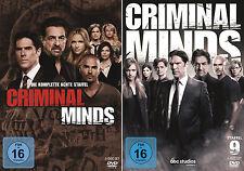 Criminal Minds - Die komplette 8. + 9. Staffel                       | DVD | 444