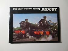 Didcot Railway Centre Great Western Society Soft Cover Booklet Trains  (M1139)