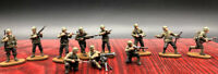 1/72 Resin WWII US 11 Soldiers Kit FINISHED PRODUCT Cp017