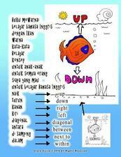 Buku Mewarnai Belajar Bahasa Inggris Dengan Ikan Warna Kata-Kata Belajar...