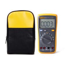 Fluke 15B+ Auto Range Digital Multimeter Voltage Probe Meter With Case Holster