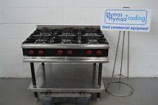 More details for 6 burner nat gas boiling top viscount catering 90cm x 75cm x 80cm high fwo