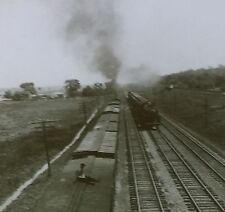 Four Track Railway, Electric Road, Eric Canal, Magic Lantern Glass Slide
