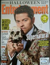 MISHA COLLINS SIGNED ENTERTAINMENT WEEKLY MAGAZINE SUPERNATURAL SDCC COA CASTIEL