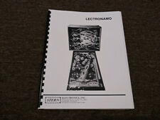 Lectronamo Pinball Manual with Full-Size, Fold-Out Schematics