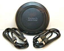 YooTech Qi Wireless Charging Pad -- Black