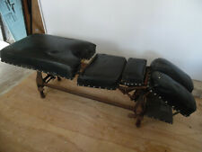 Antique Vintage Zenith Chiropractic Hylo Medical Table