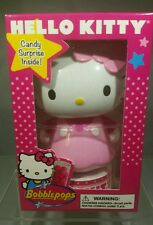 """Hello Kitty Sanrio Pink Bobble head pops Sweet Strawberry Flavored Candy 5.5"""""""