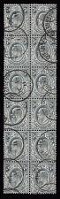 Handstamped Pre-Decimal Great Britain Edward VII Stamps