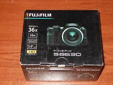 New in Box - Fujifilm FinePix S8630 16.0 MP Camera - BLACK - 074101023800