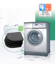4pcs Washing Machine Anti-vibration Noise Shock Pads Mat Bathroom Accessories LT