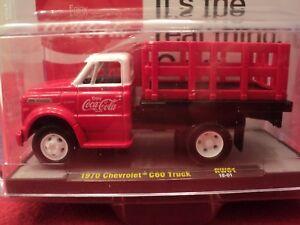 "M2 1970 Chevrolet C60 Truck  ""Coca- Cola"" w/display case 1/64 scale NIB 1/9600"