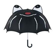 Kidorable Black Spider Brolly Childrens Childs Umbrella Kids Boys Umbrellas Fun