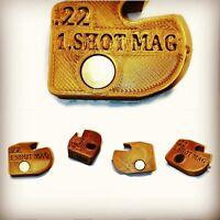 1 Shot Magazine Fits .22 BSA GAMO PHOX Single Shot Gold Slide Loader Air Rifles