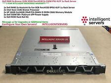 Dell R440 2x Bronze 3106 32GB PercH330 2x 550W PSU 4LFF 1u Rack Server